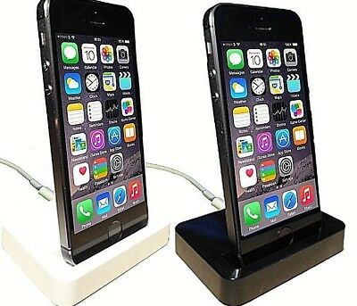 IPhone 5/C/S SE/6/7/8/X/XR/XS Max Plus IPod Touch 5/6/7 Charge & Sync Dock • 3.50£