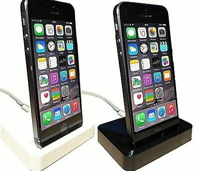 *UK SELLER* Charge & Sync Dock For IPhone 5/5c/5s/SE IPod Touch 5/6/7 UK SELLER* • 3£