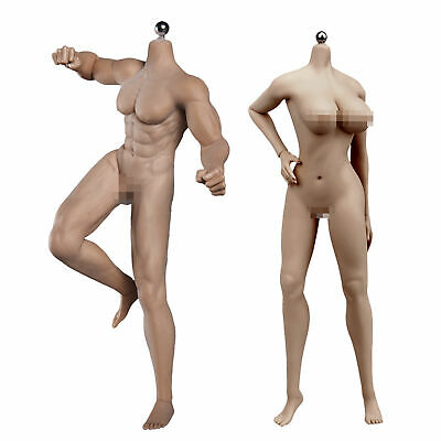 $ CDN139.47 • Buy 1/6 Male & Female Seamless Action Figure Model Fit Phicen TBLeague Hot Toys Head