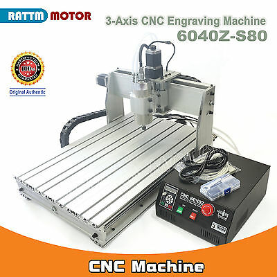 $1330 • Buy 3 Axis 6040Z S80 1500W VFD LPT Mach3 Engraving Milling Maschine CNC Router Kit
