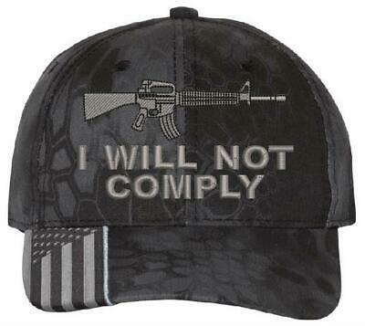 $ CDN27.24 • Buy I Will Not Comply 2nd Amendment Embroidered Hat - Various Hat Options