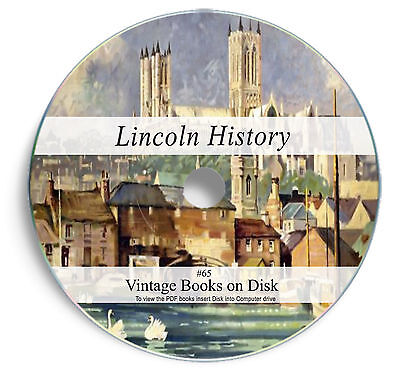 £3.90 • Buy 115 Rare Books On DVD Lincoln History Lincolnshire Genealogy Parish Registers 65