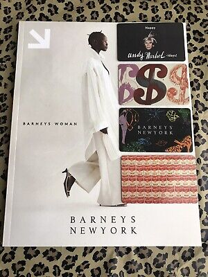 $40 • Buy (4) Andy Warhol 2006 Gift Cards Ltd Ed + Barneys New York Magazine Catalog 2019