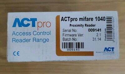 Actpro Mifare Proximitty Reader 1040 • 65£