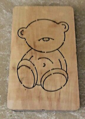 £75 • Buy Large Wooden Cutting Die Cutter BEAR #2 - *NEW & SEALED*