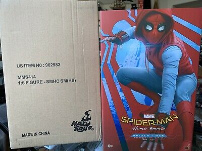 $450 • Buy Hot Toys MMS414 Spiderman Homecoming Homemade Suit Version