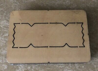 Large Wooden Cutting Die Cutter *CRACKER* - *NEW & SEALED*  • 45£