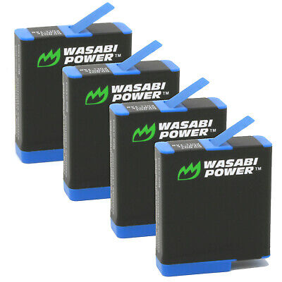 $ CDN46.23 • Buy Wasabi Power Battery (4-Pack) For GoPro HERO8 Black (Compatible With HERO7,