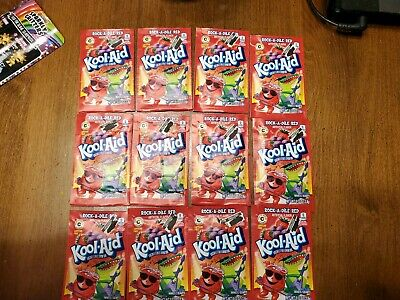 Kool Aid Rock A Dile Red Mix Packets Lot Of 12 Use By 2016 Discontinued 6 Gal  • 11.54£