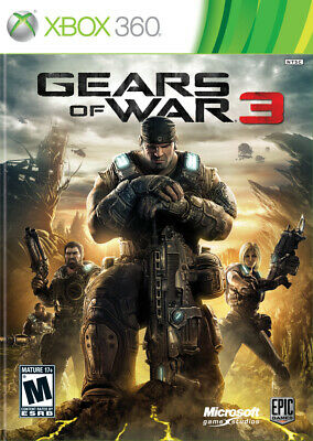 $6.29 • Buy Gears Of War 3 Xbox 360 Game And Case