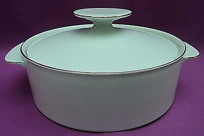 £30 • Buy Thomas Germany White/Gold Thin Gold Band Porcelain Tureen With Lid