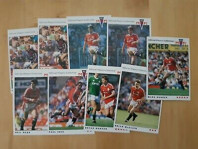 Manchester United Football Trade Cards - Panini 92 • 1.50£