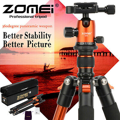 AU61.93 • Buy ZOMEI Q555 Flexible Light Weight Aluminium Tripod&Ball Head For Digital Camera