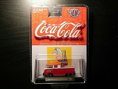 $ CDN25 • Buy M2 Machines Coca Cola DE01 1960 VW Double Cab Truck USA Model 18-44 Only 9,600
