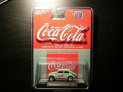 $ CDN18 • Buy M2 Machines Coca Cola GG01 1953 VW Beetle Deluxe European Model 18-62 Only 9,600