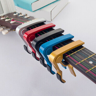 $ CDN4.20 • Buy Quick Change Guitar Capo Capotraste Violao For 6 String Acoustic Electric Guitar