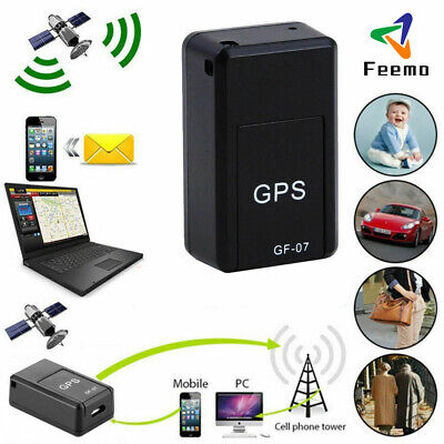 Mini Magnetic GPS Tracker Car Spy GSM GPRS Real Time Tracking Locator Device NEW • 4.36£