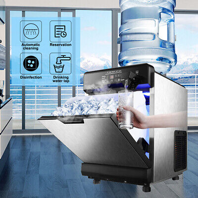 $328.98 • Buy 100lbs/24HR Electric Ice Maker Machine Compact Water Dispenser Countertop Hotel