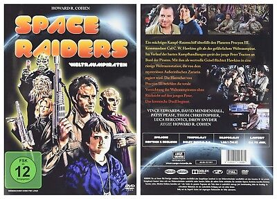 Space Raiders (1983) - NEW R2 DVD - Vince Edwards, David Mendenhall UK Dispatch • 14.28£