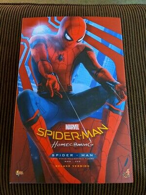 $424.99 • Buy Hot Toys Spiderman Homecoming 1/6 Scale Figure Marvel Studios Comic Tom Holland