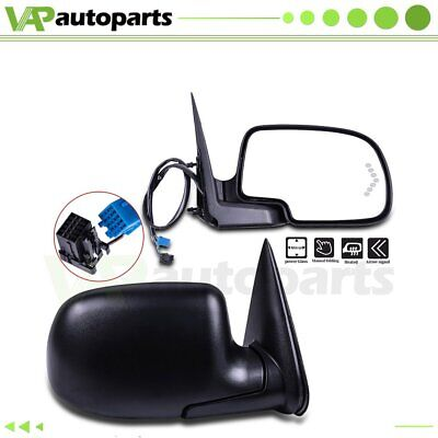 $110.72 • Buy Left+Right Side View Mirrors Power+Heated Turn Signal Lamp For 2003-07 Chevy GMC