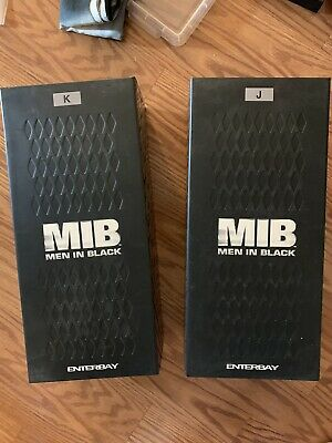 $900 • Buy Enterbay MIB Men In Black Agent K And Agent J 1:6 Scale No Returns. With Villain