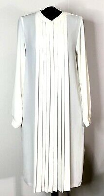 AU20 • Buy UNIQLO Dress. White Shirt Dress, Long Top. Great For Work And Travel. XS