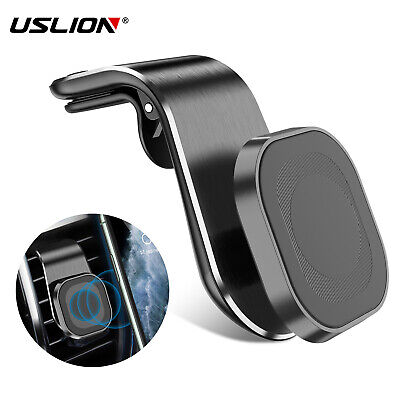 $4.29 • Buy Phone Holder Clip Car Air Vent Magnetic Bracket For Mobile Phone GPS Accessories