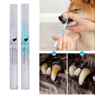 Pets Dogs Teeth Tartar Dental Calculus Stones Remover Toothbrush Cleaning Kit • 4.95£