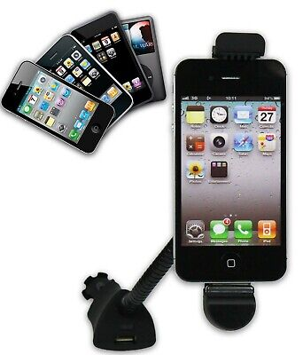 Car Mobile Holder For Apple IPhone 4S/4, 3GS, IPod Touch - With Dock Connection • 11.39£