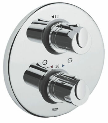 GROHE 19236 Grohtherm 1000 Thermostatic Shower Mixer Chrome TRIM SET ONLY • 29.99£
