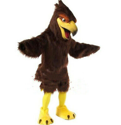 Halloween Fursuit Eagle Mascot Costume Cosplay Party Outfits Clothing Carnival • 277.11£