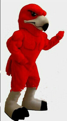 Red Bird Eagle Fursuit Mascot Costume Cosplay Party Dress Clothing Halloween • 277.11£