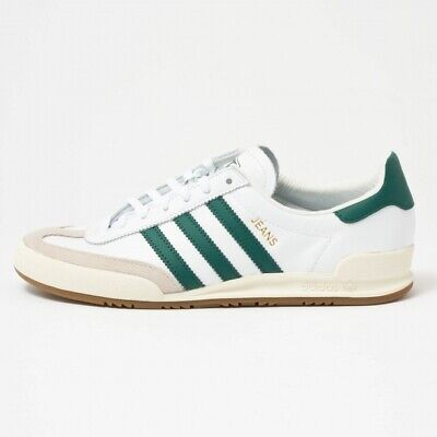 AU117.15 • Buy Adidas Originals Jeans Trainers White/green Stripes Size Uk 7 ! F
