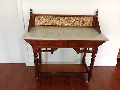 AU299 • Buy Antique Marble Top Washstand/Sideboard