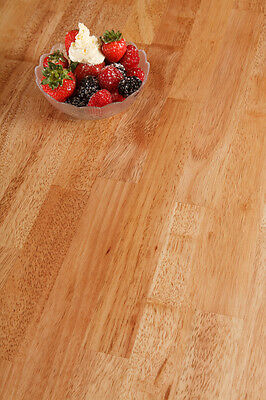 Rubberwood Worktop - Solid Wood Worktops, Kitchen Counter And Various Bar Tops • 19.99£