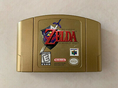 $59.99 • Buy Nintendo Legend Of Zelda Ocarina Of Time N64 GOLD Collector's Edition AUTHENTIC