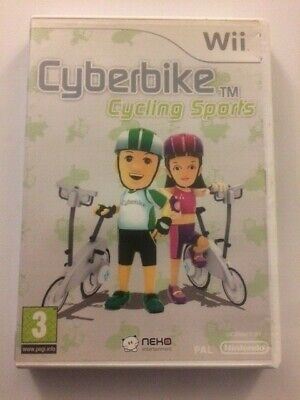 Cyberbike Cycling Sports - Nintendo Wii / Wii U - Fast P&P! - Cyber Bike, Cycle • 11.45£