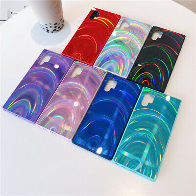 $ CDN4.58 • Buy Bling Gradient Laser Mirror Case Phone Cover For Samsung Galaxy S10 A71 A51 A20S