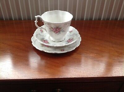 Royal Albert Cup, Saucer And Plate - Tranquility • 10.50£