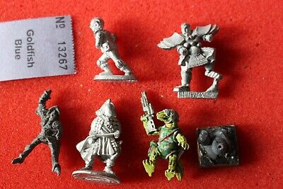 Grenadier Models Games Workshop Mixture Sci Fi Fantasy Spares Metal Figures Lot • 11.99£