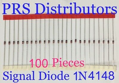 $ CDN12.39 • Buy Diode 1N4148 Fast Switching Signal Diode Replaces Diode 1N914 100 Pcs USA Seller