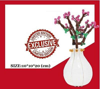 $42.50 • Buy LEGO Chinese New Year RUYI Peach Flower Vase SPECIAL EXCLUSIVE LIMITED 160PCS