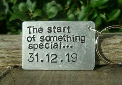 AU23.96 • Buy Personalised Valentines Day Keyring Gifts For Boyfriend Girlfriend Him Her Love