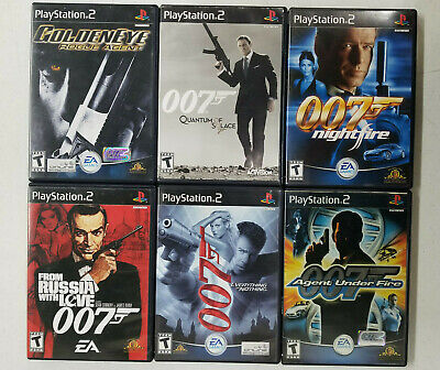 $5.97 • Buy 007 Agent Under Fire, Nightfire, From Russia With Love, Goldeneye, Quantum  PS2