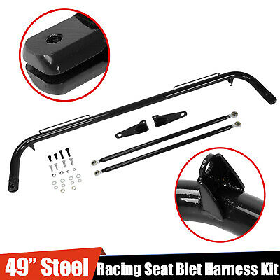 $87.88 • Buy 49  Stainless Steel Racing Safety Seat Belt Chassis Roll Harness Bar Rod Kit
