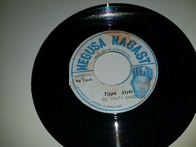 BIG YOUTH BAND Tippa Style / Hit The Road Jack NEGUSA NAGAST 45 VINYL RECORD 7  • 10.85£