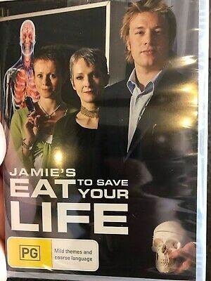AU54.95 • Buy Jamie Oliver : Eat To Save Your Life NEW/sealed Region 4 DVD (food / Health)