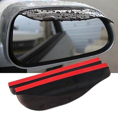 $3.32 • Buy Car Accessories Rear View Side Mirror Visor Sun Rain Guard Protector Black Front
