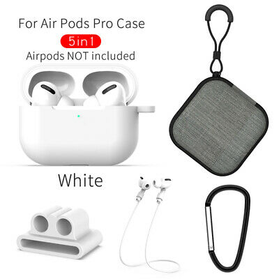 $ CDN8.52 • Buy Protector Skin Accessories Charging Case Cover Kits For Apple AirPods Pro Gd